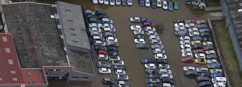 Une quarantaine de sites industriels affectés par les inondations