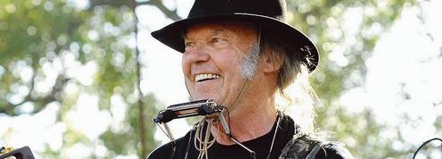 Neil Young, solide comme le rock