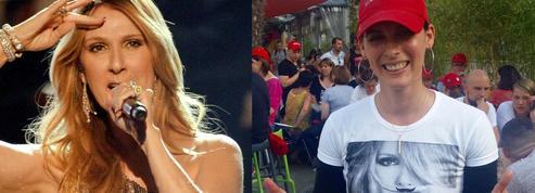 Bercy: plongée au cœur de la «Fan zone» de Céline Dion