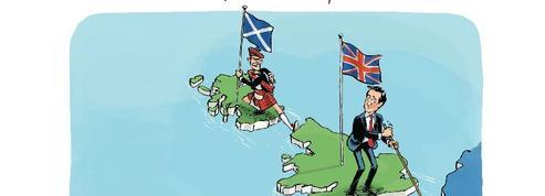 Le dessin d'Ixène: «l'Europe ébranlée, le Royaume-Uni divisé»