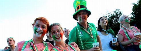 Euro 2016 : la Médaille de la Ville de Paris pour les supporteurs irlandais