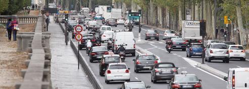 Circulation à Paris: des mesures qui auront un impact positif mais limité sur la qualité de l'air