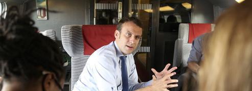 Macron: «Avec En Marche!, j'ai fait un choix radical; si j'échoue, le système m'expulsera»