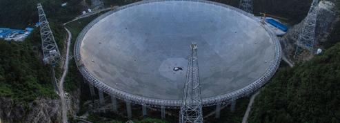 En Chine, une antenne radio de 500m pour écouter le cosmos