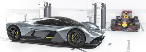 Aston Martin RB-001, pour passer sous les portiques de péage