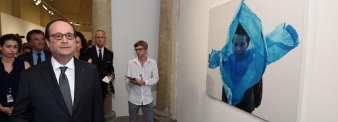 Le marathon de François Hollande aux Rencontres photographiques d'Arles