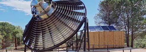 Renaissance d'un vieux four solaire dans les Pyrénées