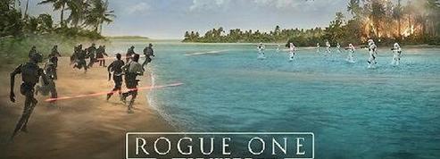Star Wars Rogue One dévoile sa première affiche officielle