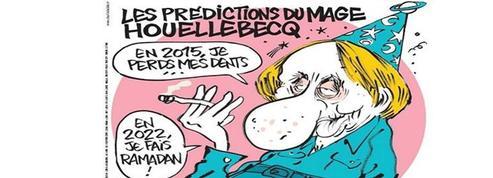 Le Soumission de Houellebecq sort le jour de l'attentat de Charlie Hebdo