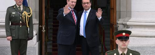 Hollande à Dublin: le Brexit va-t-il entraîner une réunification de l'Irlande?