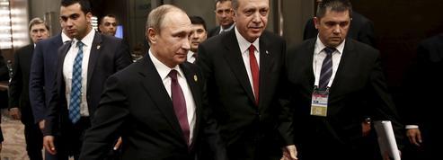 Le putsch raté en Turquie rapproche Erdogan et Poutine