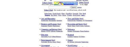 Ces sept choses que le Web doit à Yahoo!