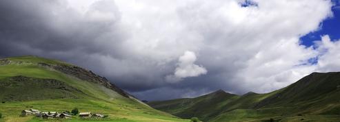 Davantage de pluies d'orage au sommet des Alpes