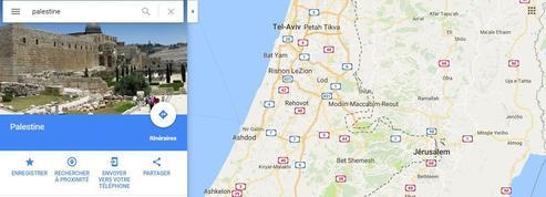 Polémique autour de la représentation de la Palestine sur Google Maps