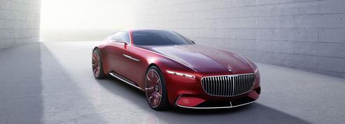 Vision Mercedes-Maybach 6, une star sur le gazon de Pebble Beach