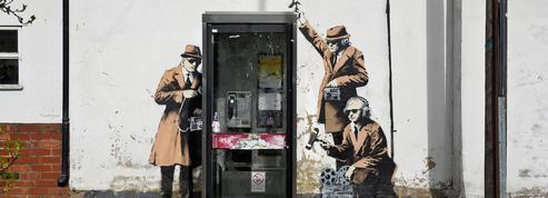 Une oeuvre de Banksy estimée à un million d'euros détruite en Angeleterre