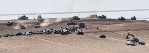 La Turquie s'engage au sol en Syrie