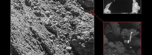 Le petit Philae retrouvé sur sa comète