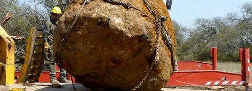 Découverte d'une météorite géante de 30 tonnes en Argentine