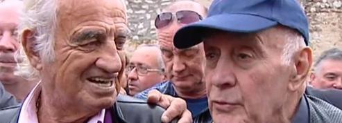 Belmondo inaugure la place du cascadeur Rémy Julienne