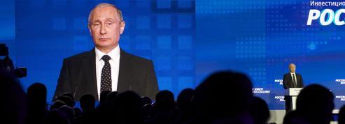 Poutine fustige la France mais refuse l'escalade