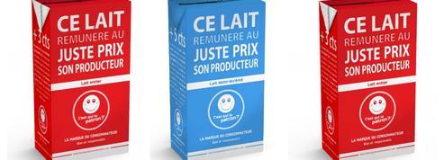 Le lait au prix fixé par les consommateurs arrive chez Carrefour
