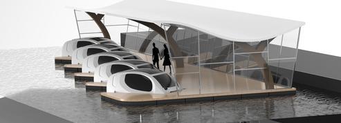 Une station-service sur l'eau pour recharger les voitures volantes de Seabubble