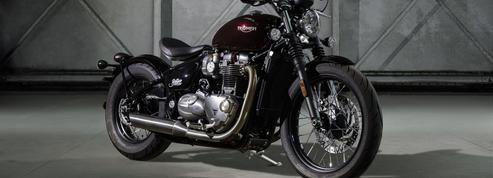 Triumph Bonneville Bobber : un joli raccourci