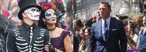 James Bond inspire Mexico pour fêter ses morts