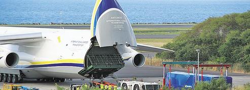Une centrale électrique prend l'avion entre LaRéunion et Madagascar