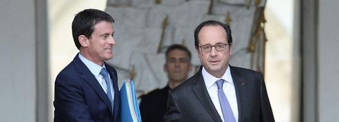 Glaçantes retrouvailles pour Valls et Hollande