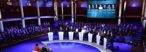 Débat de la primaire à droite: les candidats lavent leur linge sale en public