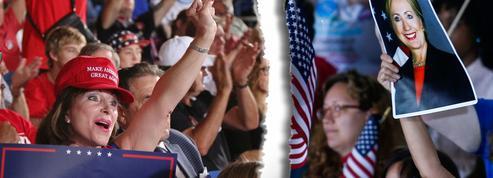 Derrière l'affrontement Trump-Clinton, l'Amérique fracturée