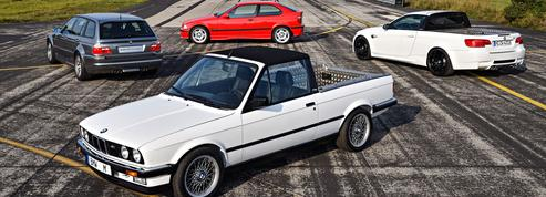 BMW M3, les versions restées à l'état de prototype
