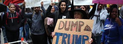 «Trump n'est pas notre président» : de jeunes Américains manifestent