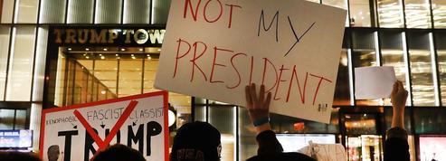 Donald Trump accuse les médias d'inciter à manifester contre son élection