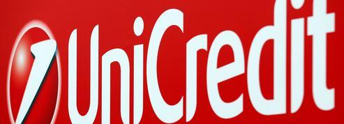 Italie: UniCredit pourrait lever jusqu'à 13milliards d'euros