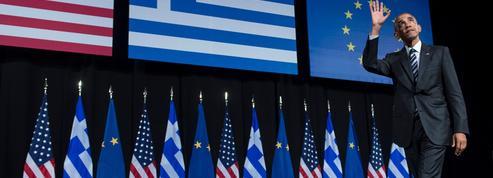 À Athènes, le discours testament d'Obama sur la démocratie