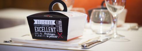 Joli succès du «doggy bag» à la française dans nos restaurants