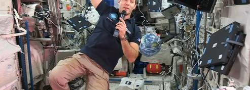 Thomas Pesquet confie ses premiers bonheurs (et galères) à bord de la Station spatiale