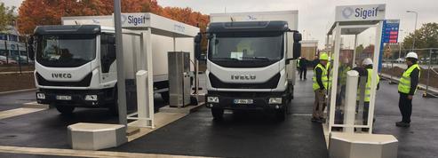 Top départ pour la plus grosse station de gaz carburant en France
