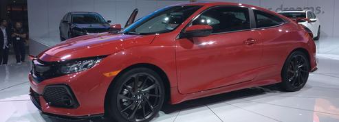 Honda Civic Si Coupé, une nouvelle sportive pour 2017