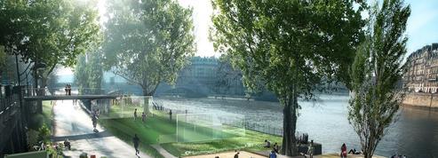 Paris: sur les voies sur berge, pétanque et café équitable