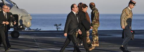 L'adieu aux armes de François Hollande sur le Charles-de-Gaulle