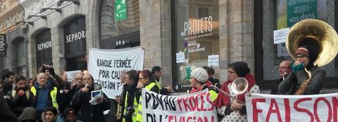 Des agences BNP Paribas ciblées par des actions contre l'évasion fiscale partout en France