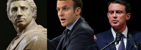 «Brutus», comparaison flatteuse pour Valls et Macron