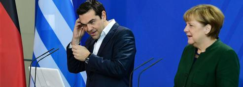 Tsipras plaide sa cause chez l'intransigeante Merkel