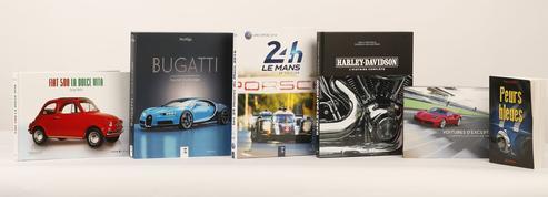 Auto-moto : les beaux livres pour Noël