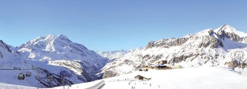 A Val-d'Isère, la neige est là et les débutants sont rois