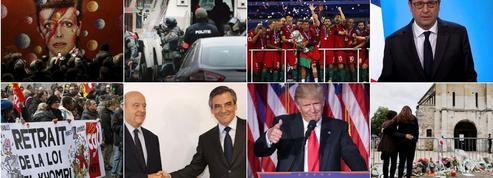 Les quinze alertes du Figaro qui résument l'année 2016